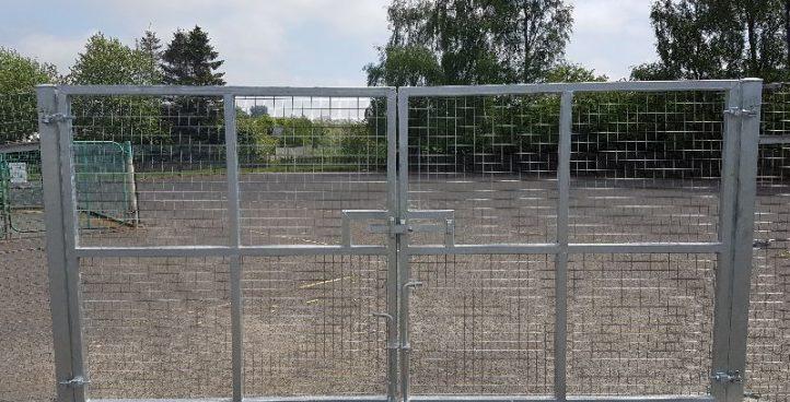 Double Swıng Gate